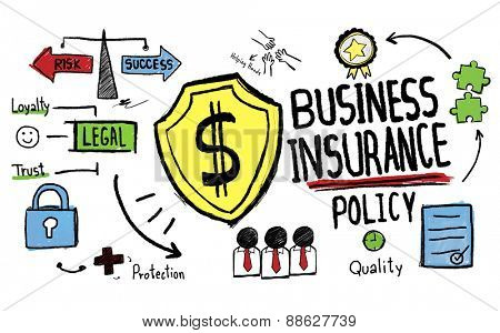 Business Insurance Finance Policy Concept