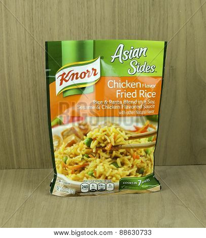 Bag Of Knorr Chicken Flavor Rice Noodle Mix