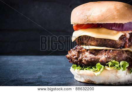 Double Beef Cheeseburger
