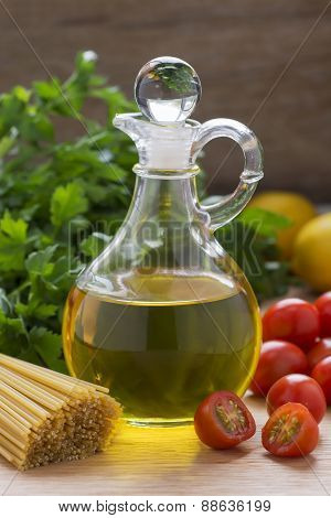 Olive Oil and Mediterranean Food Ingredients