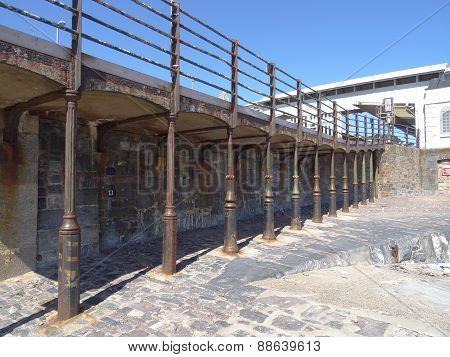 Railway Station Promenade Supports