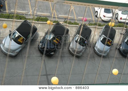 Cars In Mirror 1
