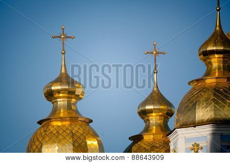 Golden Copes Of In Cathedral