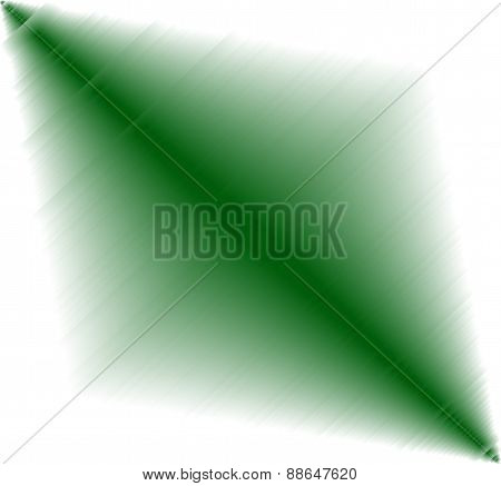 Abstract green metal effect on white Background