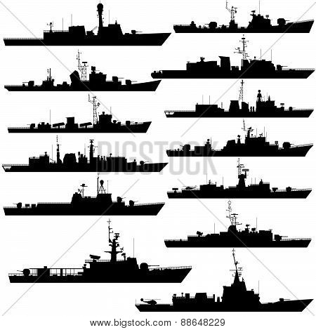 Frigates and corvettes-1