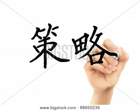 Simplified Chinese Words For Strategy