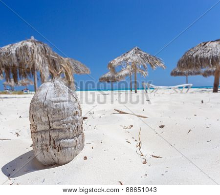 Tropical beach on Cayo Largo island