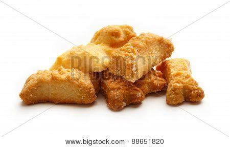 Pile Of Bone Formed Cookies