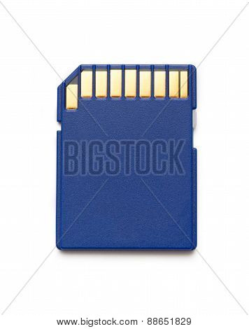 Blue Compact Memory Card