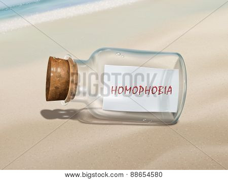 Homophobia Message In A Bottle