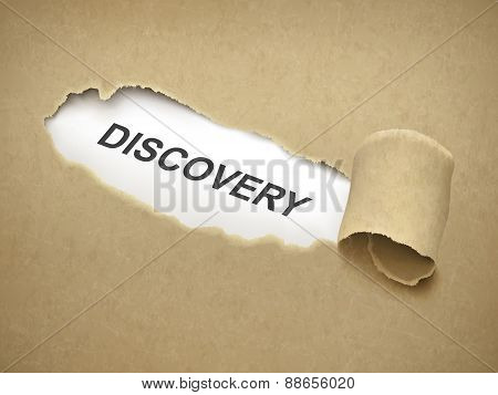 The Word Discovery Behind Torn Paper