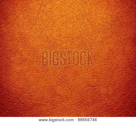Amber (SAE-ECE) leather texture background