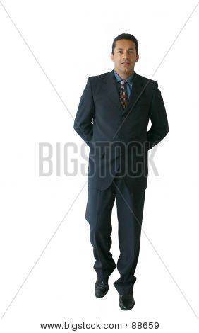 Business Man Standing - Je