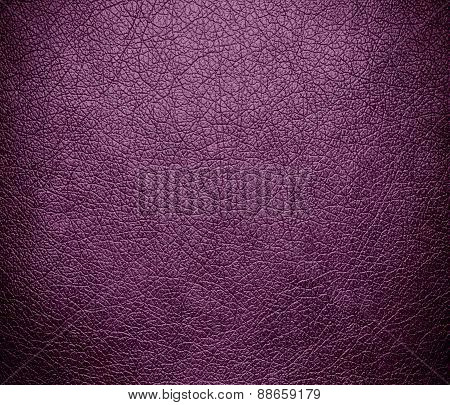 Antique fuchsia leather texture background