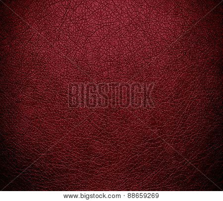 Antique ruby leather texture background