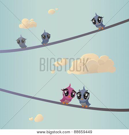 Birds On Wires