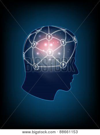 Creativitas on the head human