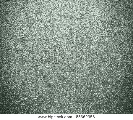 Ash grey leather texture background