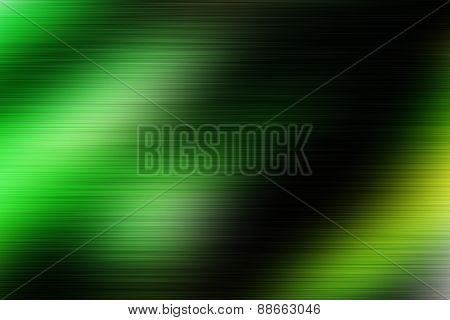 Green Magic Colorful Blur Abstract Background