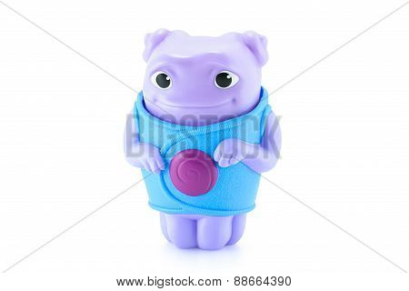 Oh Alien Purple Color Toy Character From Dreamworks Home Animation Movie.
