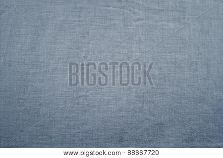 Closeup of blank canvas texture