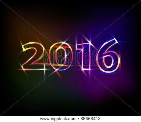 2016 Neon Lights Effect