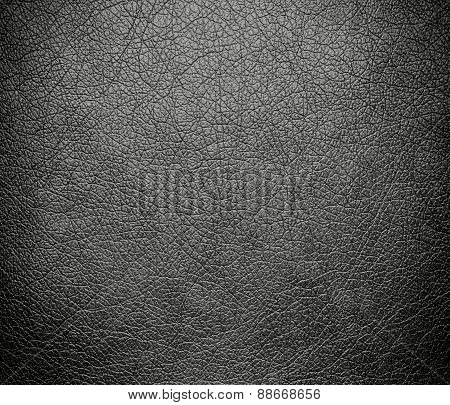 Battleship grey leather texture background