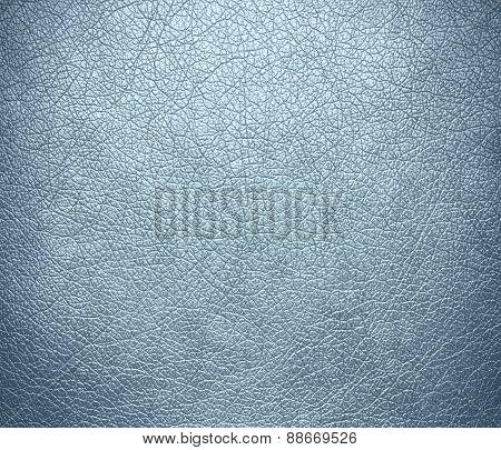 Azure mist color leather texture background