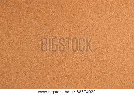 Closeup shot of cork texture