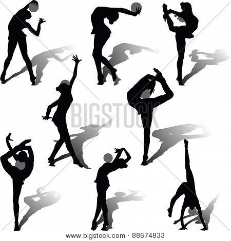 Rhythmic Gymnastics With Ball