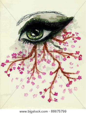 Sketch Of An Eye