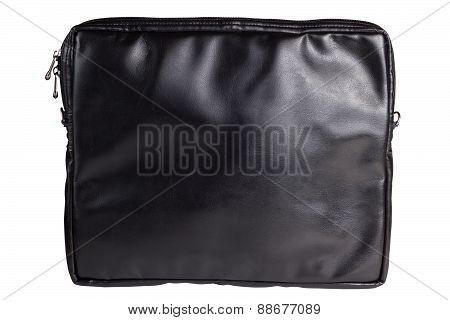 Black female leather bag