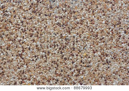 Rounded Pebble Stones Cement