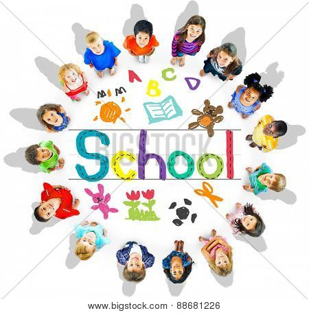 School Children Kids Education Concept