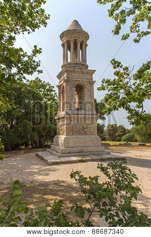 Famous Mausoleum of the Julii (Glanum, Provence)