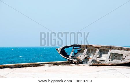 Broken Boat