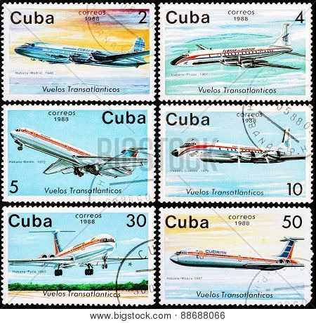 Post Stamps From Cuba