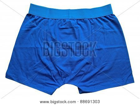 Male Underwear - Blue