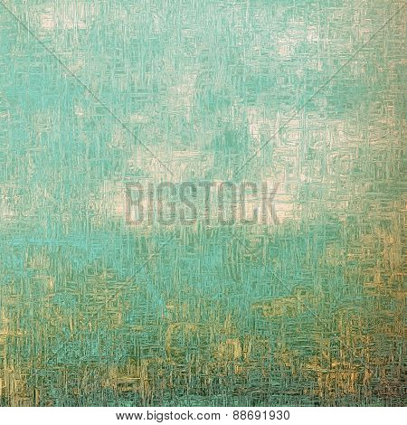 Colorful vintage texture. With different color patterns: yellow (beige); gray; blue; cyan