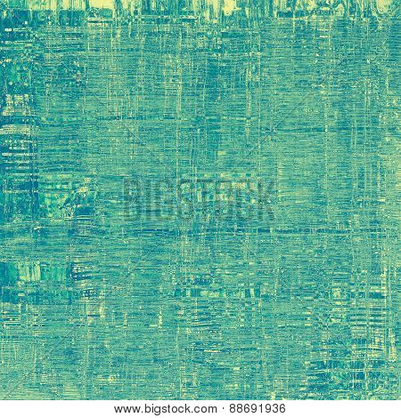 Abstract grunge background of old texture. With different color patterns: yellow (beige); green; blue; cyan