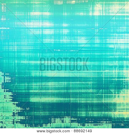Rough grunge texture. With different color patterns: blue; cyan; green