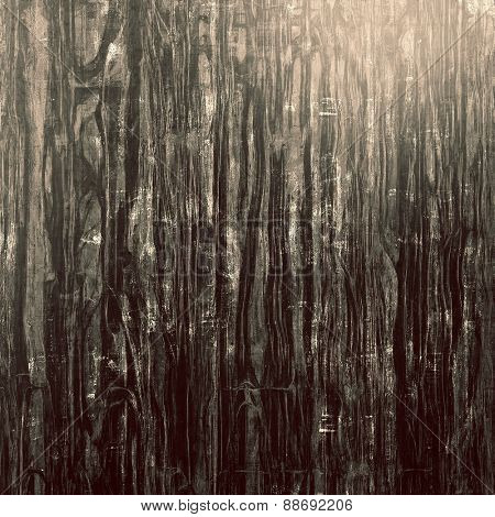Rough grunge texture. With different color patterns: brown; gray; black
