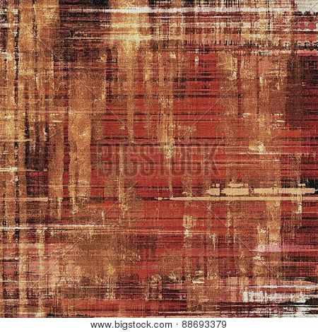 Background in grunge style. With different color patterns: yellow (beige); brown; gray