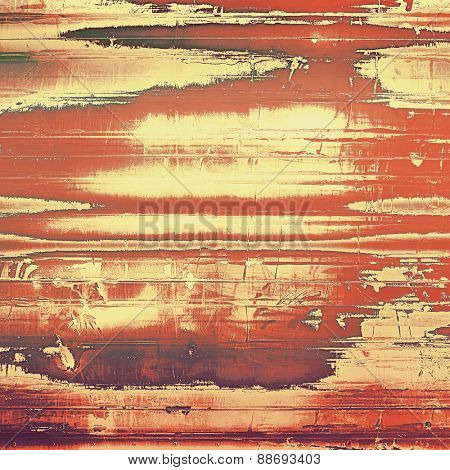 Retro texture. With different color patterns: yellow (beige); brown; red (orange)