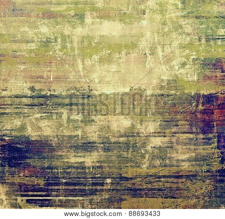 Vintage old texture for background. With different color patterns: gray; blue; purple (violet); green