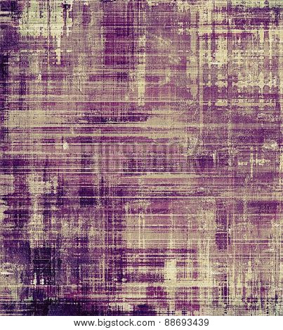 Abstract grunge background or old texture. With different color patterns: brown; gray; purple (violet)