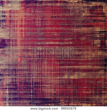 Grunge texture or background with space for text. With different color patterns: brown; gray; purple (violet); pink