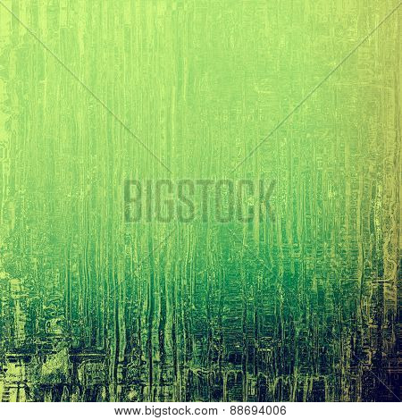 Background in grunge style. With different color patterns: yellow (beige); green; blue