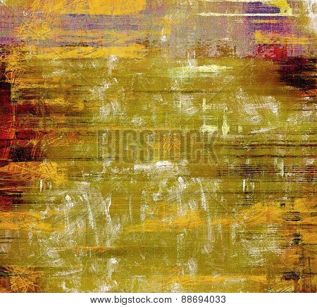Old school textured background. With different color patterns: yellow (beige); brown; green; purple (violet)