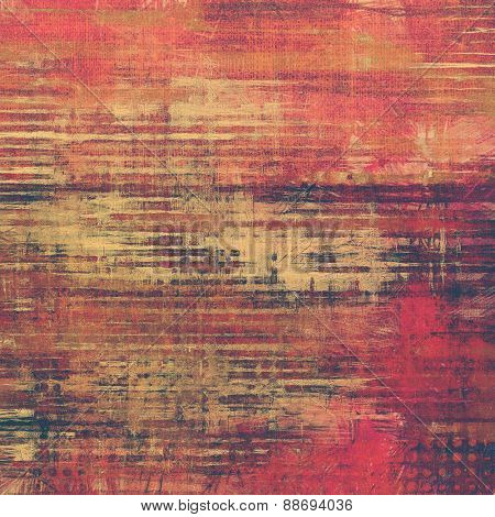 Old, grunge background texture. With different color patterns: brown; purple (violet); pink; red (orange)